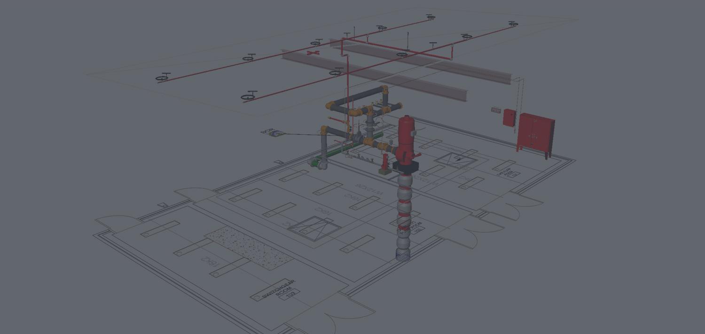 Fire Sprinkler Design Sprinklers System Designs Nationwide 3d. 3d Detailed. Wiring. Fire Sprinkler System Schematic Warehouse At Scoala.co